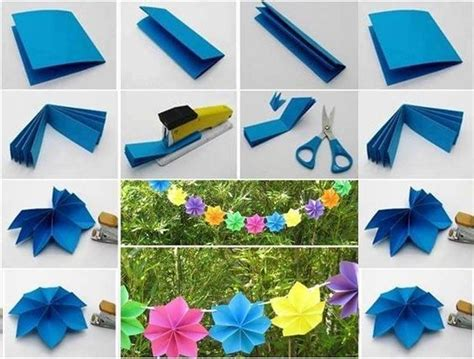 How To Do Paper Crafts Step By Step - how to make origami paper craft ideas step by step step