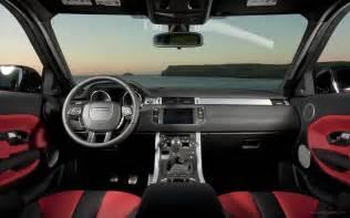 Land Rover Evoque Interior Range Rover Evoque 5 Door Interior Wallpaper Hd Car