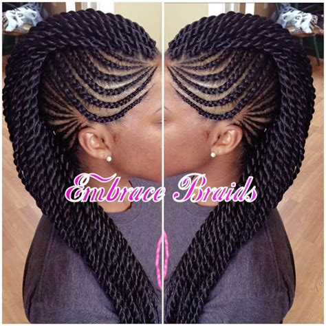 Mohawk Braid Hairstyle by Mohawk Braids Mohawk Braidedmohawk Scalpbraids