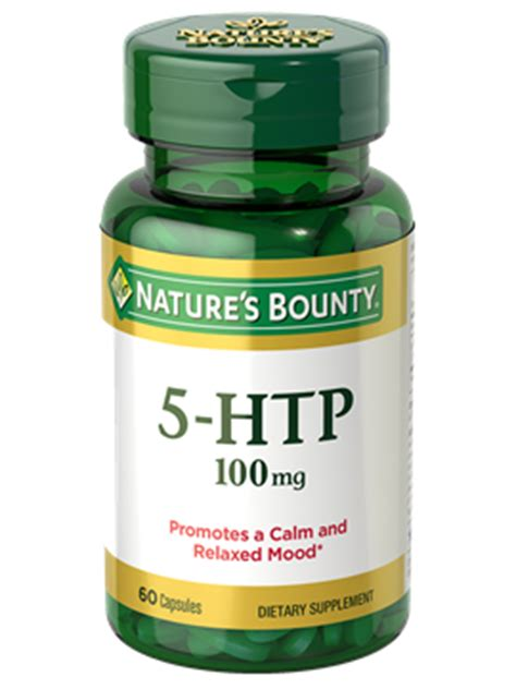 supplement 5 htp reviews 5 htp 100 mg 60 capsules nature s bounty be your