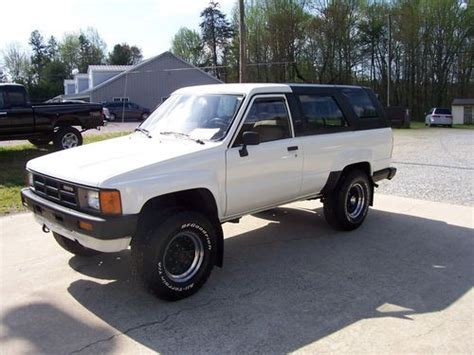 1985 Toyota Front Axle Purchase Used 1985 Toyota 4runner 4x4 22re 5 Speed Last