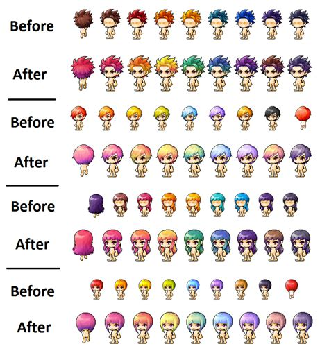 vip hairstyle coupon maplestory maplestory hair color coupon vip samurai blue coupon