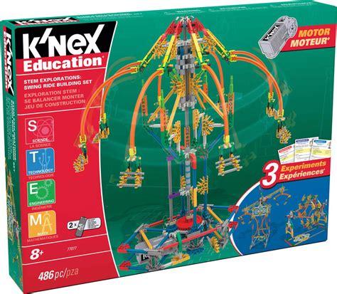 knex super swing k nex education stem explorations swing ride building
