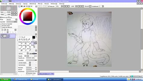 paint tool sai 2 not opening traditional to digital lineart and color by pascua