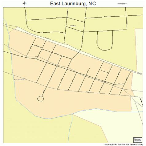 laurinburg carolina map east laurinburg carolina map 3719620