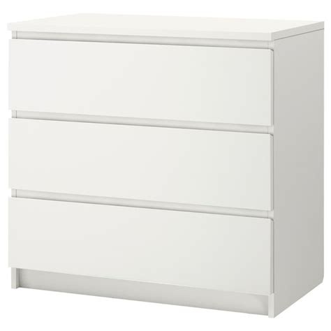 malm 4 drawer chest white malm 3 drawer chest white