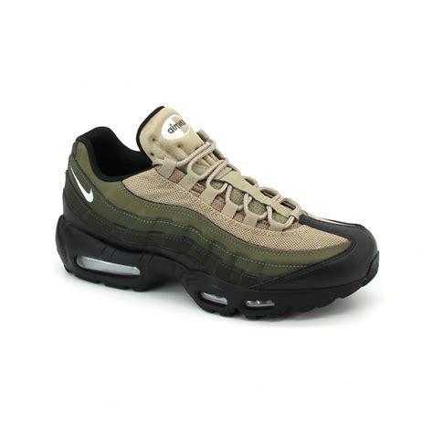 Nike Airmax Made In Black nike airmax 95 essential black sequoia cargo khaki laced