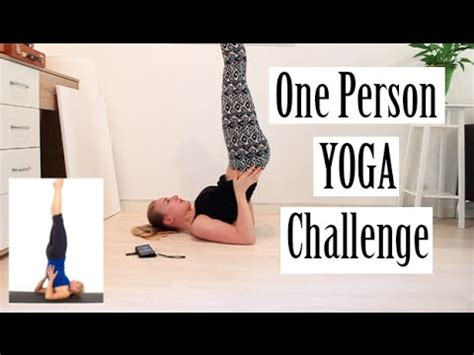 one person challenge