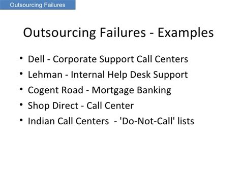 Outsourced Help Desk Pricing by Outsourcing Key Management Issues