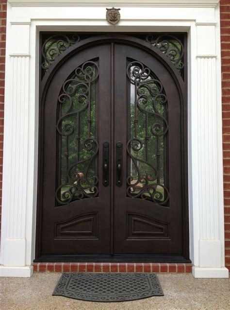 why choose wrought iron doors for their home