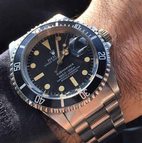 rolex replica submariner vintage  black dial edition