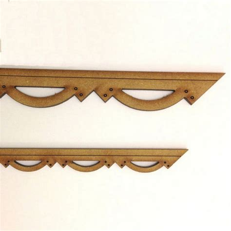 Decorative Mdf Board by Decorative Barge Board Moulding Mdf Bcm101