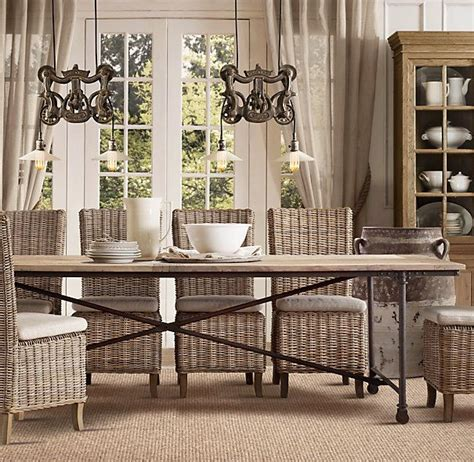 restoration hardware kitchen tables my hunt for the kitchen table driven by decor
