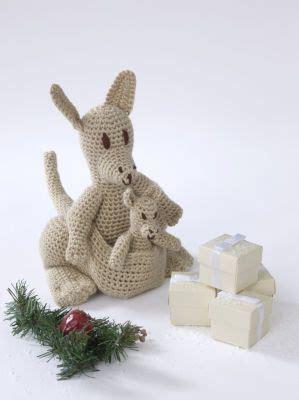 amigurumi crochet kangaroo  baby pattern