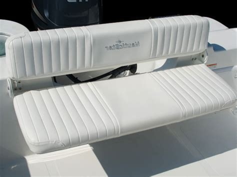 marine folding bench seat rear bench seat for boat boat rear bench seat white
