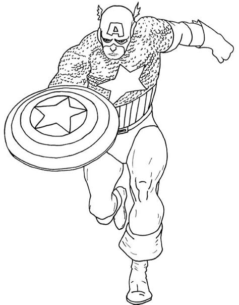 coloring pages captain america related captain america coloring pages item 11168 captain