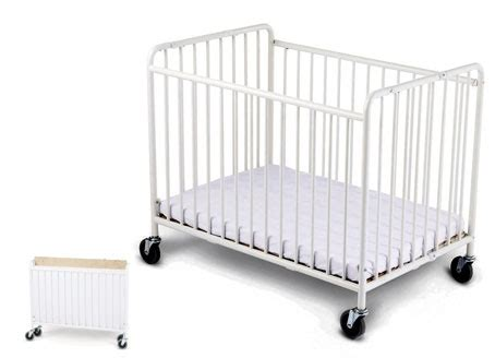 Foundations Baby Cribs Foundations Stowaway Baby Crib White No 767 1231090