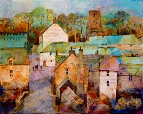 acrylic painting houses 17 best images about blanchland northumberland on