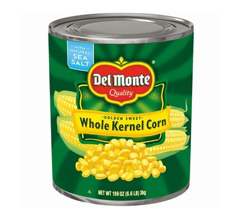 corn calories monte golden sweet whole kernel corn calories nutrition analysis more