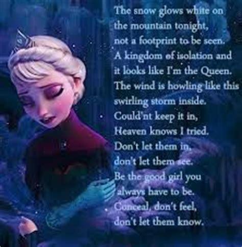 let it go frozen testo 1000 images about let it go on disney let it
