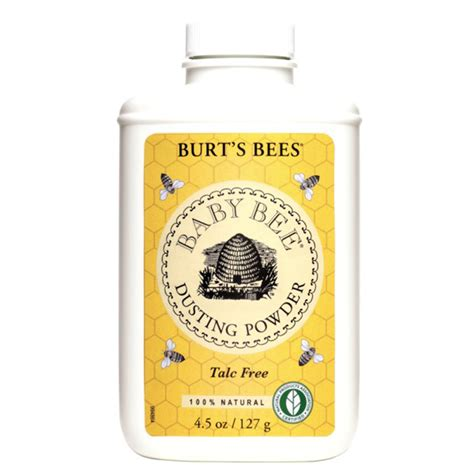 burt s burt s bees baby bee dusting powder 4 5oz ebay