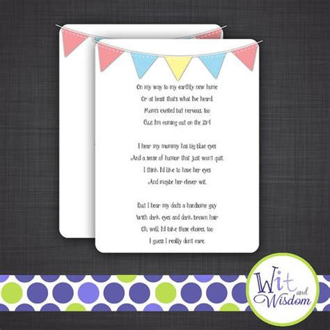 Baby Shower Speech Sles baby shower ideas baby shower baby shower speech poem