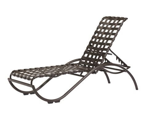 strap chaise lounge la scala strap chaise lounge chaise lounges the great