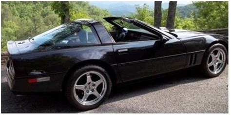 black c4 corvette 1985 black c4 corvette