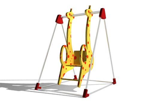 giraffe swing giraffe swing 3d model 3ds max files free download