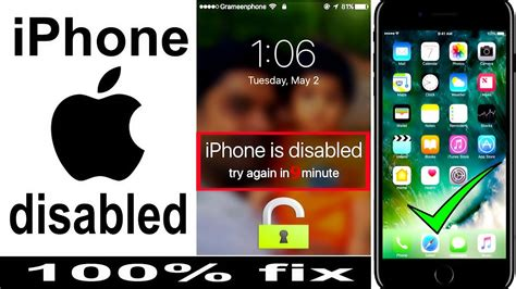 unlock disabled iphone password locked iphone