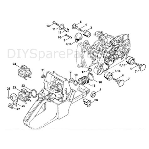 stihl ms 440 parts diagram stihl ms 440 chainsaw ms440 parts diagram av system