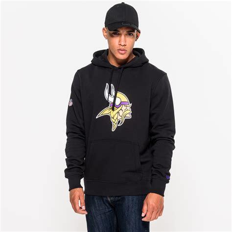 Sweater Hoodie Aw New Logo Black minnesota vikings team logo black pullover hoodie new era