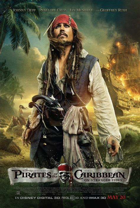 misteri film pirates of carribean pirates of the caribbean on stranger tides movie poster