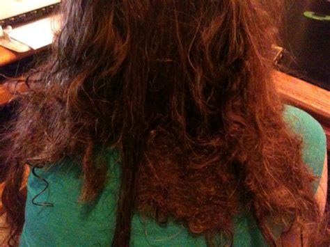how to untangle matted hair extensions