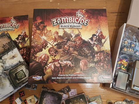 Zombicide Black Plague Board Original Boardgame zombicide black plague review exhilarating just push start