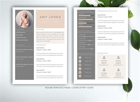 30 resume templates guaranteed to get you hired inspirationfeed