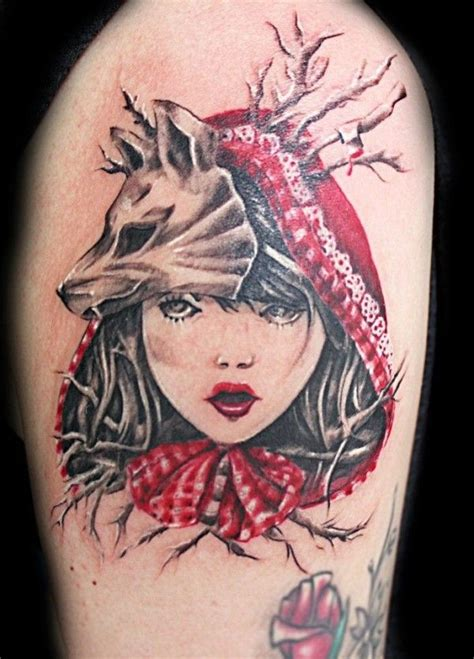 little red riding hood tattoo 102 best images about on