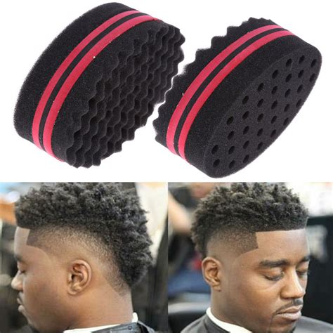 what stores can you find hair twist sponges for men spin barber hair sponge brush for dreads locking twist