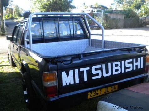 mitsubishi strada 1994 used mitsubishi l200 1994 l200 for sale vacoas