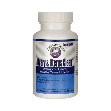 Womb And Ovary Detox Supplements by Ovary Uterus Clean 500 Mg 60 Veg Caps
