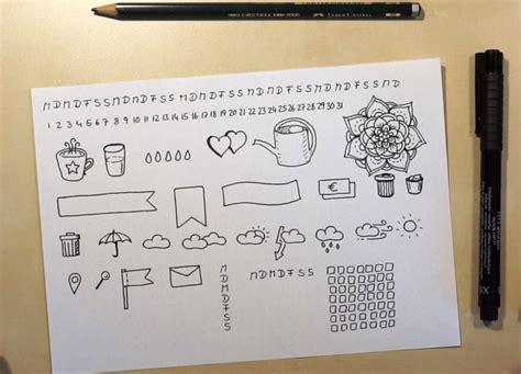Sticker Selber Machen by Bullet Journal Sticker Selber Machen Diy Tinas