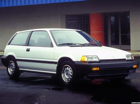 fotos de honda civic hatchback usa 1983