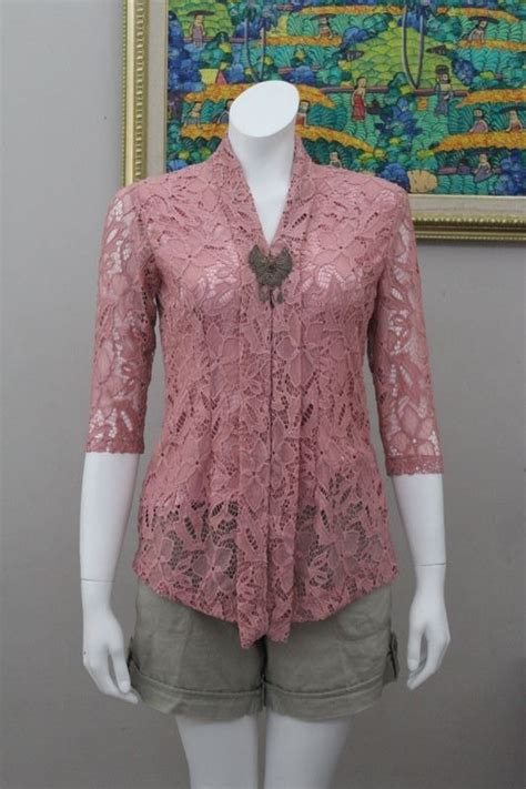 Blouse Batik Cantik Modern Big Size Baju Batik Wanita 3 s kebaya oki beautiful and sweet