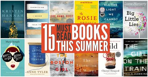 summer of the books 15 must read summer books