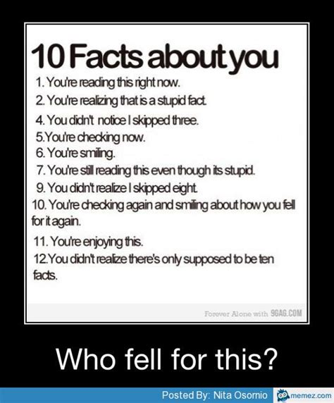 Fact Meme - 10 facts about you memes com