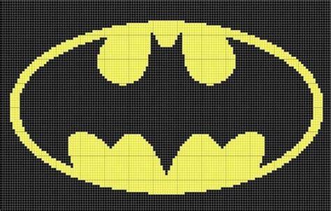 batman logo pony stitching 17 best images about cross stitch justice league on