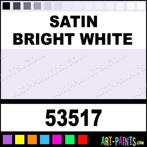 satin bright white indoor outdoor spray paints 53517 satin bright white paint satin bright