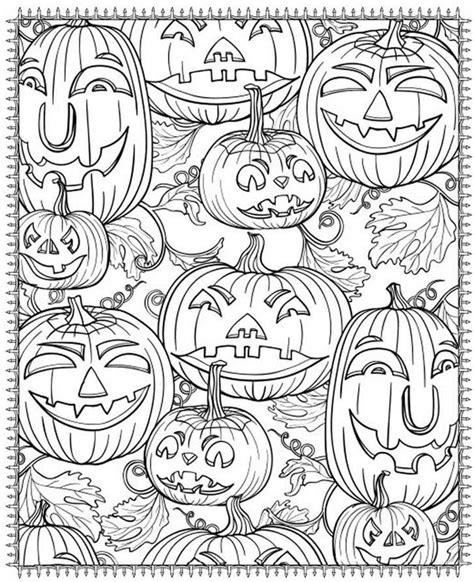 printable halloween decorations for adults 20 printable halloween pages to color while eating candy