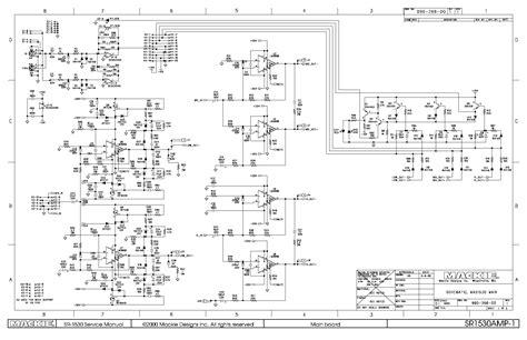 mackie wiring diagrams wiring diagrams