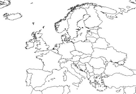 blank european maps blank map of northern europe reformation
